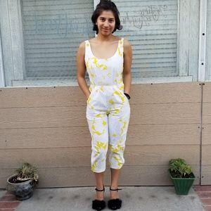 Joni blair dresses in yellow